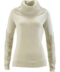 bpc selection premium Pullover in beige für Damen von bonprix