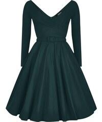 COLLECTIF Dámské retro šaty Nicky zelené 303cca1f98