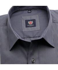 68758122d11a Willsoor Pánska košele London v šedé farbe s pásikom (výška 176-182) 5555