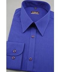 Pánská košile SLIM královská modrá Avantgard 117-1143-43 44 182 b8718994f5