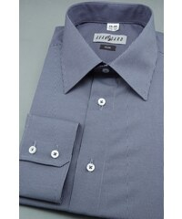 Pánská košile SLIM modrá bílá proužkovaná Avantgard 115-1801-43 44 182 648b1f2510