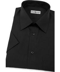 6900b31b89a9 Pánska košeľa krátky rukáv - V23-Čierna Avantgard 351-23-40 182