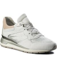Sneakersy GEOX - D Shahira B D62N1B 085KI C1352 White Off White c12c72b4ff