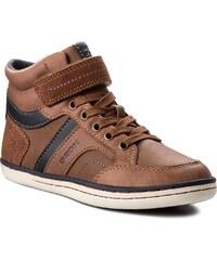 Kotníková obuv GEOX - J Gracia B. A J74B6A 0BCCL C6176 S Cognac Navy 66476195b1