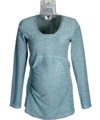 1adce8426c6 Těhotenské tričko Rialto GARYNAHINE modrý melír 00333