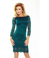 NUMOCO Dámské šaty Superstar květiny zelené c18e5ed39b