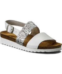 Szandál CLARKS - Un Haven Cove 261332824 White Leather - Glami.hu 7bdd2ba34b