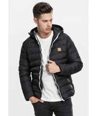 21008d1d71 Pánska zimná bunda Urban Classics Basic Bubble Jacket blk wht blk