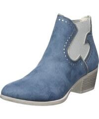 Gabor Dylis, Mocassins Femme, Blau (Light bleu Used Nubuck), 38 EU