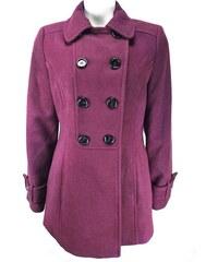 Marks   Spencer GREAT dámský vínový kabát e50b6cc80fa