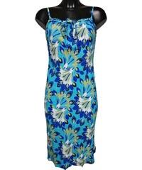 ae108380649 MARKS   SPENCER dámské modré-zelené šaty