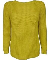Žluté dámské svetry z obchodu Kup-Outlet.eu - Glami.cz 55e559068a