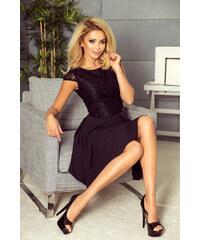 ebabc353cbf Strikingstyle 157-2 Spoločenské šaty numoco   čierne