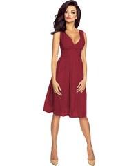 KARTES MODA šaty dámské KM117 šifon obálkový výstřih 62f571cfc2
