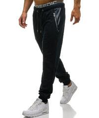 Tmavomodré pánske teplákové joggery BOLF 3778 d289658d7b1