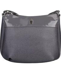 WOJEWODZIC Luxusní značkové kožené crossbody kabelky šedé Izabela  31303 EA23 PL23 4b5ba9e1911