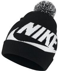 b27034a4d36 Nike Y nsw beanie pom BLACK WHITE WHITE