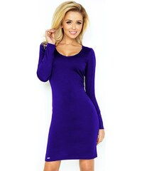 Dámské šaty 92-1 - Numoco - Královská modř L edc8a38d155