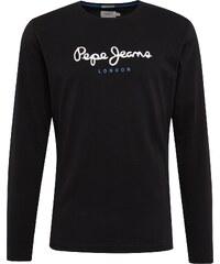 cfb677742bc Pepe Jeans Tričko  EGGO LONG  černá   bílá