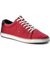 Tenisky TOMMY HILFIGER - Iconic Long Lace Sneaker FM0FM01536 Tango Red 611 b34b084fa48