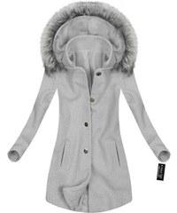 Pastelové Dámske bundy a kabáty  c93446ce478