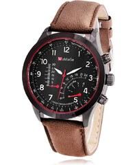 Womage Exclusive M20 - hnědé pánské hodinky d543308155