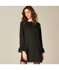 1ac70a20009 Mohito - Puntíkované šaty s kontrastním límečkem - Vícebarevn