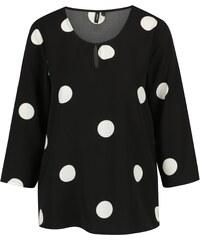 3b88529770b Černobílá dámské halenky a košile s dlouhým rukávem z obchodu Zoot ...