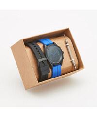Reserved - Hodinky s vyměnitelnými pásky - Modrá 5223db1a44
