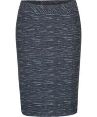3398382a4582 Modrá vzorovaná sukně s pruhy na bocích Yest