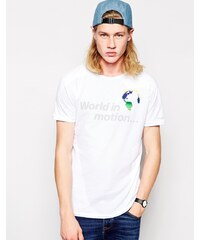 Worn By - World In Motion - T-shirt - Blanc