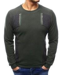 a5a60f7bb9d7 Manstyle Pánsky štýlový sveter khaki