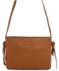 Dámska kožená kabelka TOM EVA Eba - hnedá 537936b08e0