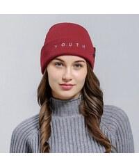 V V Zimní čepice KLV YOUTH (červená barva) cf916fcce2