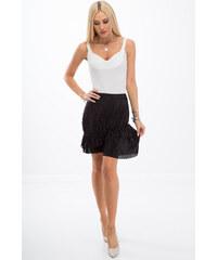 22b79931a1ff Amando Čierna skladaná sukňa