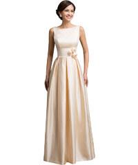 b132ae6edd1 Saténové šaty z obchodu GKarin.CZ - Glami.cz