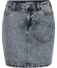 2c9bdbcdd67 Modrá džínová mini sukně Noisy May Sophia