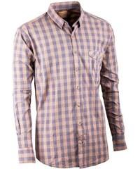 Šedožlutá pánská košile dlouhý rukáv 100 % bavlna Tonelli 110901 730cb2085c