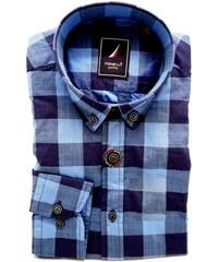 a491f97a590 Modrá pánská košile Tonelli 110912