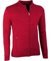 Bordó pánský svetr na zip Assante 51014 d766c890f5