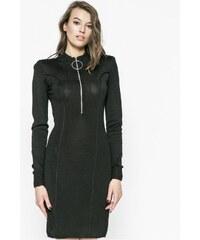 Dámské černé koktejlové mini šaty Guess - Glami.cz 8bed471b22