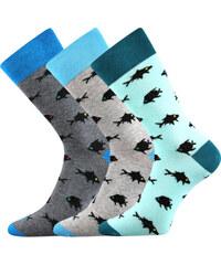 90dafe78817 Lonka Společenské ponožky Wearel 010 3 páry