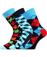 Lonka Společenské ponožky Woodoo MIX B 3 páry 3cf3daefcb
