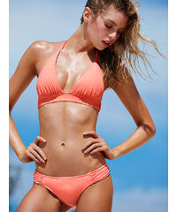 979d0c11e14 Plavky Victoria´s Secret The Plunge Halter oranžová S