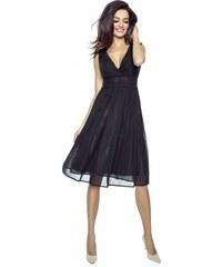 d609887a0381 KARTES MODA šaty dámské KM117-1 šifon obálkový výstřih