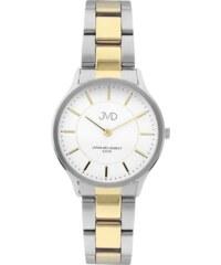 e1fbf3b078b Dámské ocelové voděodolné náramkové hodinky JVD J4168.1