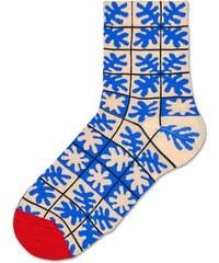 Dámské modré teplé ponožky Happy Socks Emilia    kolekce Hysteria f8e3939f30