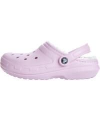 5ec3a89a8f2 Crocs Classic Fuzz Lined Clog Crocs Růžová