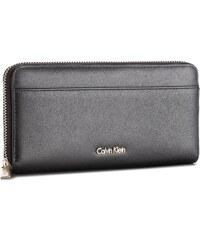 Velká dámská peněženka CALVIN KLEIN BLACK LABEL - Compact Large Ziparo  K60K604353 001 1628cdbd4e