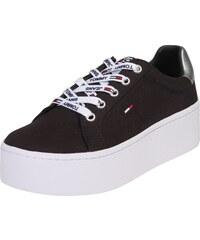 8fdf3d1ab12c Tmavě modré dámské boty na platformě